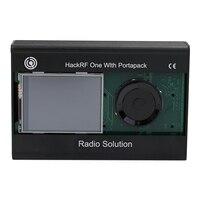 2.4 インチ液晶感動パネル Portapack と 0.5Ppm Tcxo Gps 時計 Hackrf 用メタルケース 1 Sdr -