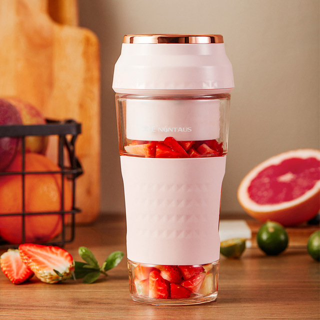 300ml New Rechargeable Juicer Cup Water Bottle Mini Portable Fresh Fruit Vegetable Juice Maker Food Blender Handheld Mixer