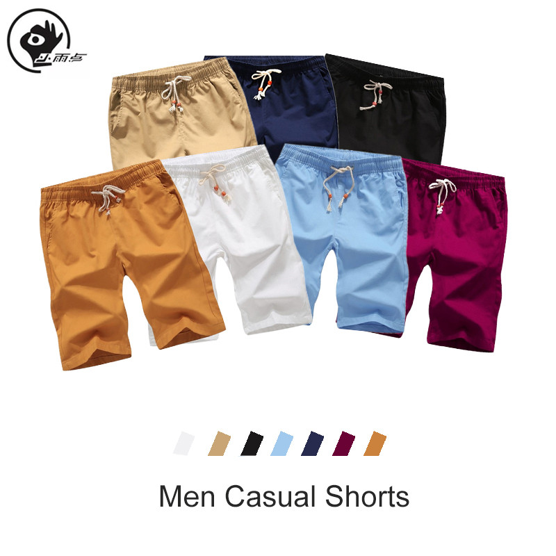 XiaoYudian Men Shorts Summer Mens Slim Brand Shorts Fitness Bodybuilding Fashion Casual Workout Beach Short Pants Sportswear