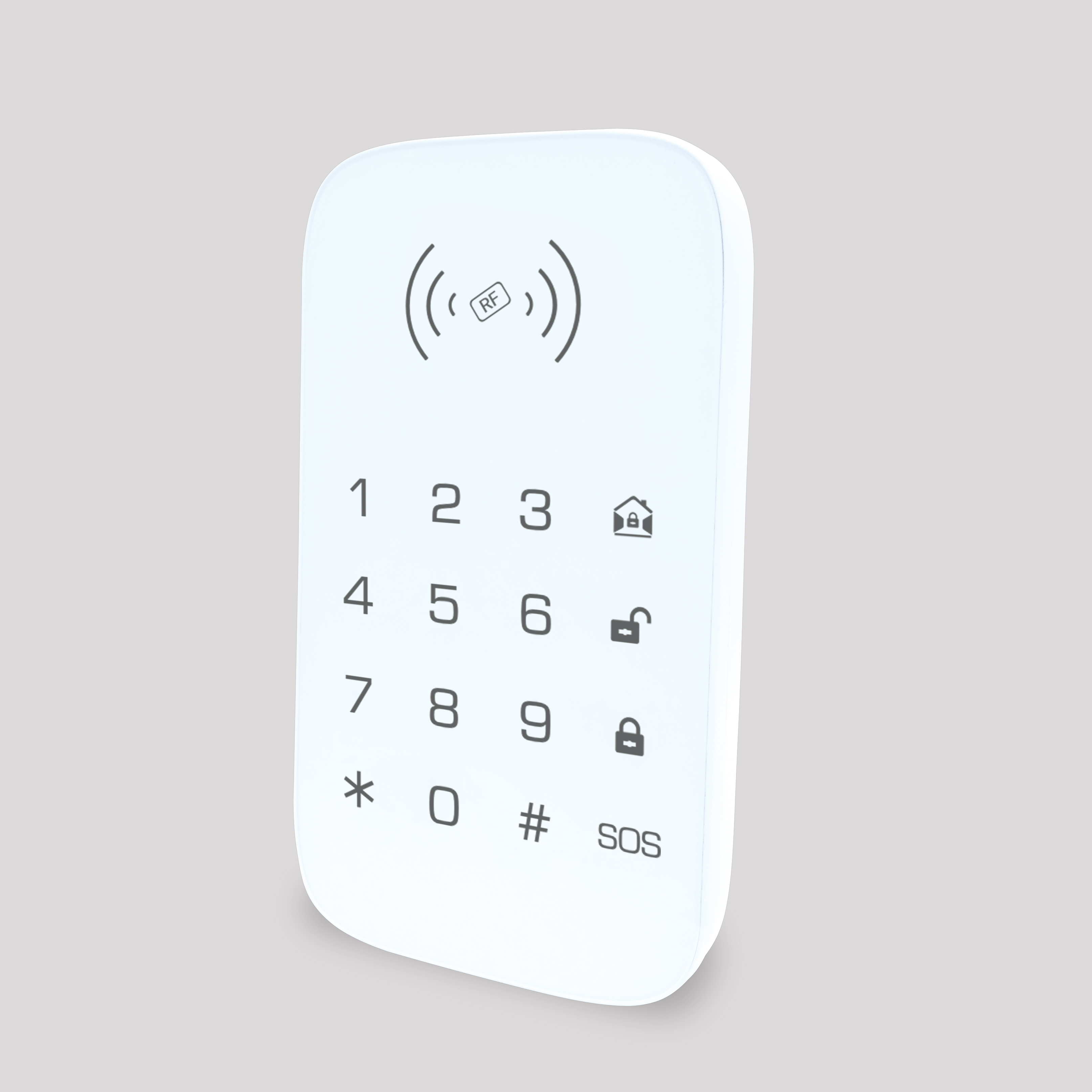Wireless Keypad For Smart Home Security System Extention Keypad For Burglar Fire Alarm Host Control Panel Support RFID Key Tag