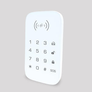 Wireless Keypad Extention Fire-Alarm RFID Burglar Home-Security-System Smart for Key-Tag