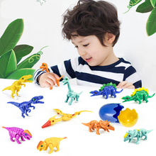 Mini Dinosaur Transforming Egg Toys RC Dinosaur Deformation Simulation Hatching Toys for Children Educational Game Birthday Gift