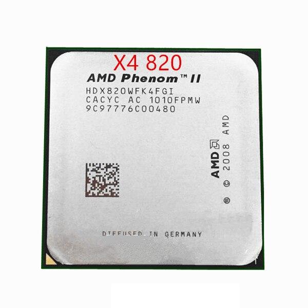 Free Shipping For Amd Phenom Ii X4 820 2 8ghz 4mb 4 Cores Socket Am3 938 Pin Hdx820wfk4fgi Desktop Cpu Desktop Cpu Socket Am3am3 Socket Aliexpress