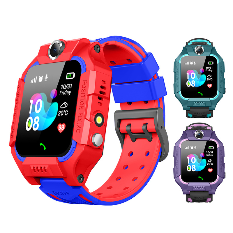 <font><b>Kids</b></font> <font><b>Smart</b></font> <font><b>Watch</b></font> SOS Antil-lost Smartwatch Baby 2G SIM Card Clock Call Location Tracker Child Smartwatch PK Q50 <font><b>Q90</b></font> Q528. image