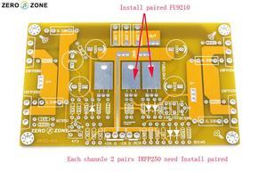 Image 3 - Hifi Pass A3 Single Ended Klasse Een Eindversterker Kit 30W + 30W Amp (2 Kanaals)