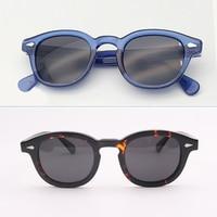 Fashion Johnny Depp Sunglasses Men Luxury Brand Lemtosh Moscot Polarized Sun Glasses Women Acetate Frame Top quality 003