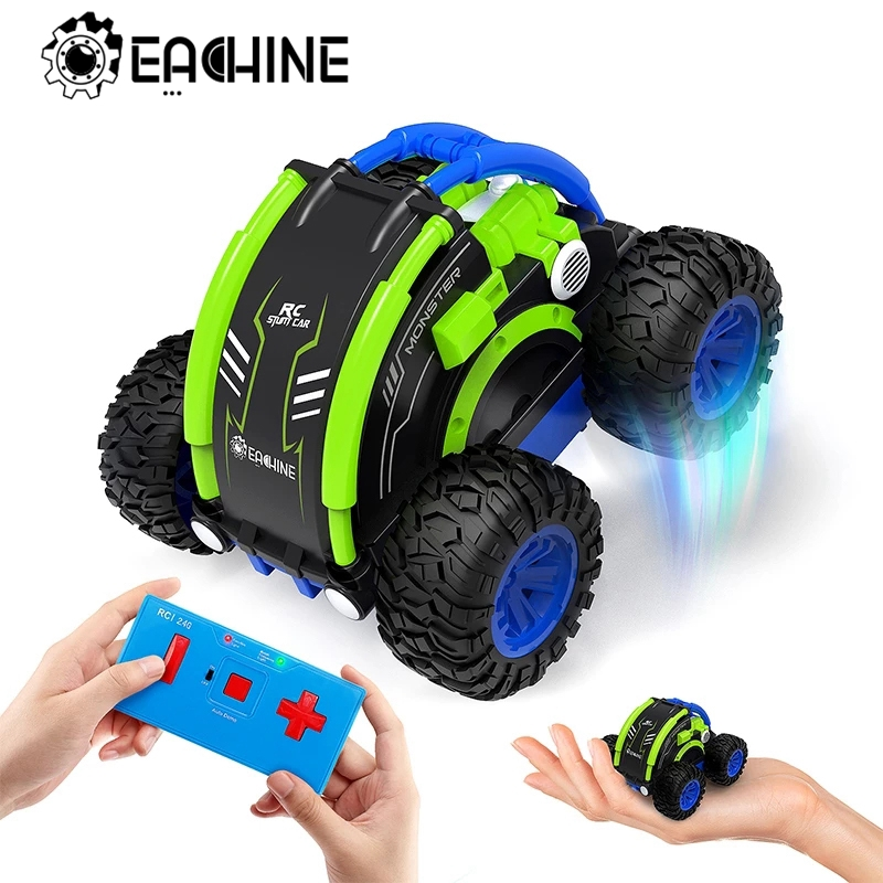 Eachine EC11 RC Car Hight Speed Drift Auto Buggy 4CH Stunt Drift Deformation Rock Crawler Roll Cars Flip For Kids Adults Toy|RC Cars| - AliExpress