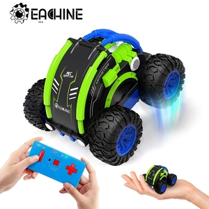 Eachine EC11 RC Car Hight Speed Drift Auto Buggy 4CH Stunt Drift Deformation Rock Crawler Roll Cars Flip For Kids Adults Toy