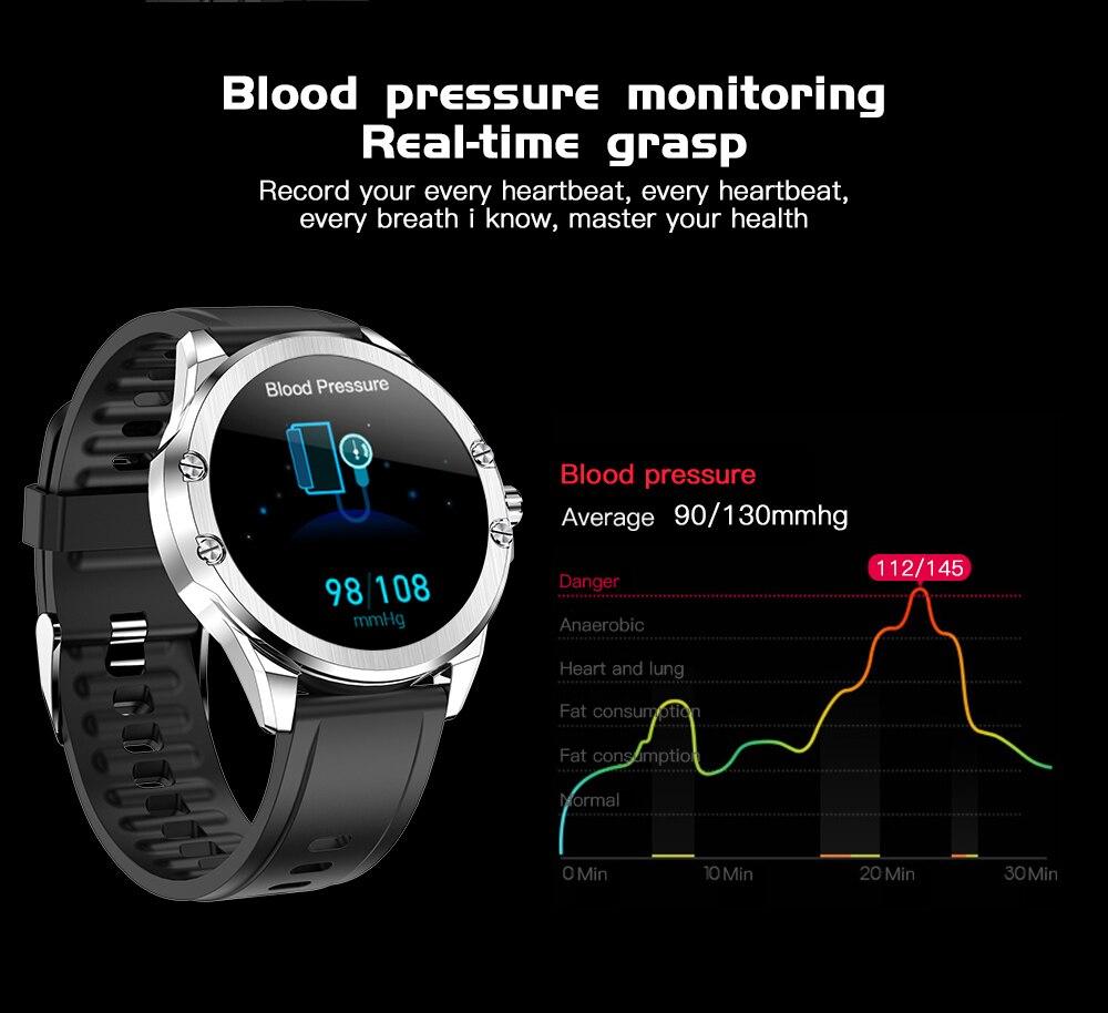 H1d1fba8dd72c40f69c203044238fdd4e6 CYUC S11 Smart watch men HD Full round Screen IP68 Waterproof