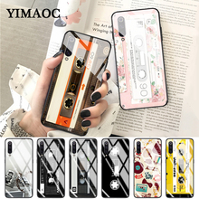 YIMAOC RETRO CLASSIC CASSETTE Unique Glass Case for Xiaomi Redmi 4X 6A note 5 6 7 Pro Mi 8 9 Lite A1 A2 F1