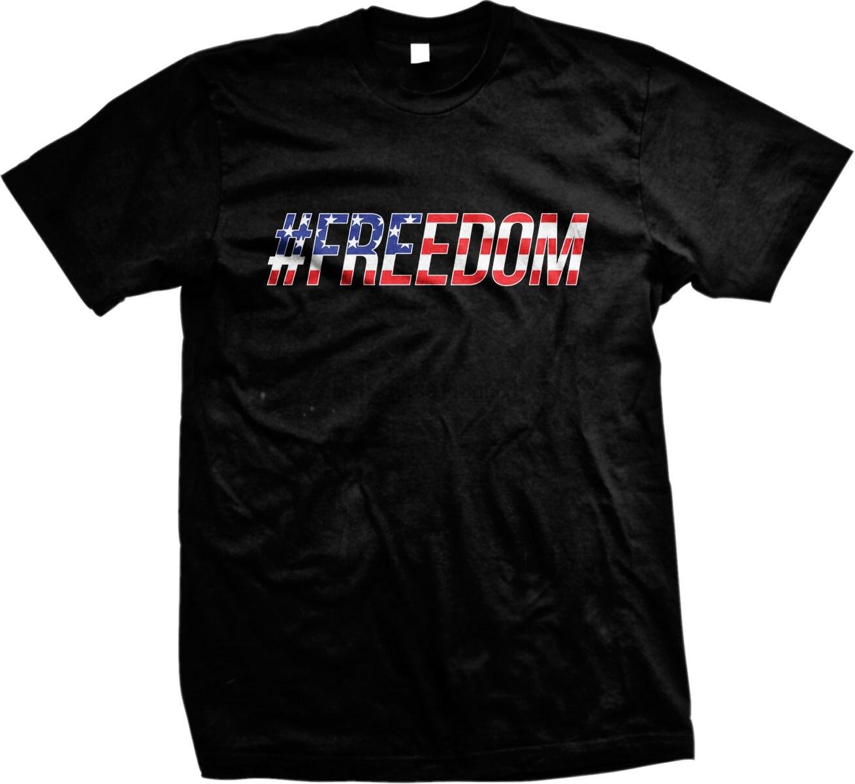 #Freedom American America Pride USA Fourth Of July Mens T-shirt