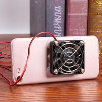 Ventilador de refrigeración USB portátil Universal para teléfonos móviles compatible con Dropshipping