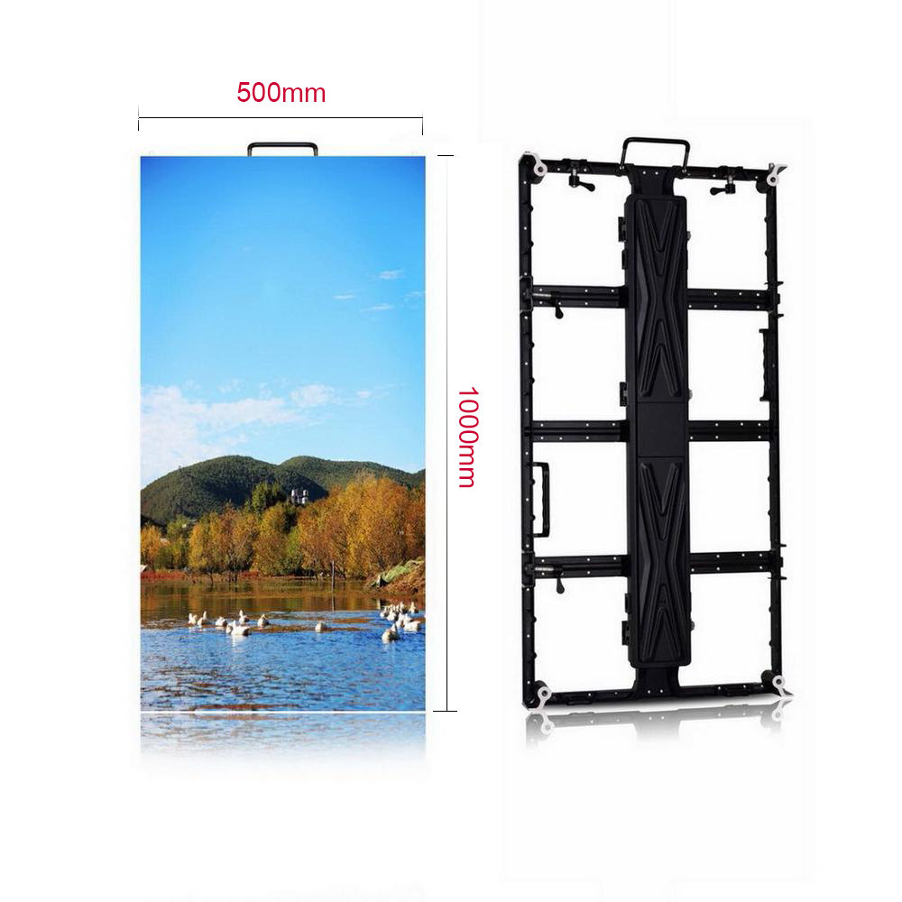 Three 500*1000mm  P4.81 SMD19 Panel + One HD-A3 Controller