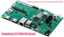 Cm4io raspberry pi módulo de cálculo 4 i/o placa, bcm2711, braço Cortex-A72 não contêm um módulo de cálculo correspondente