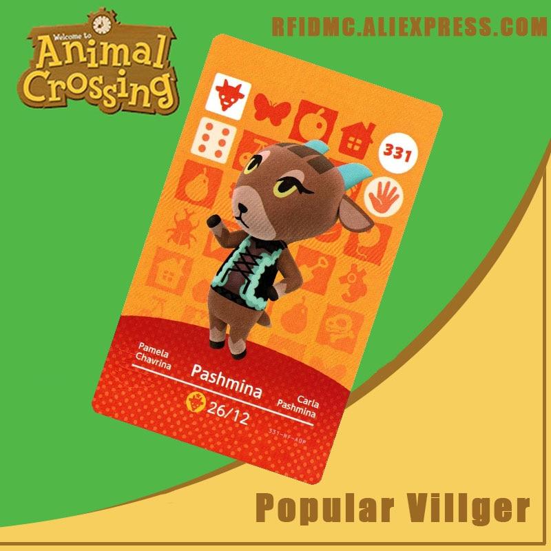 331 Pashmina Animal Crossing Card Amiibo For New Horizons