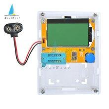 Testeur de Transistor numérique LCD Mega328 M328 128x46, testeur de Diode rétro-éclairé, Triode, capacité ESR mètre MOS/PNP/NPN LCR + étui