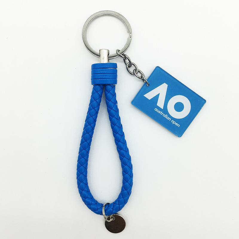 Tennis Australia Open Keychain AO Australia Keychain Key Chain Back/School Bag Gua Shi Sheng