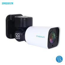 Inesun 2MP/5MP Super HD Mini PTZ IP Camera Outdoor 4X Optical Zoom H.265 120ft IR Night Vision P2P Onvif Waterproof
