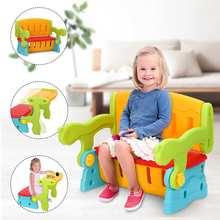 Furniture-Set Stool Toddler-Seat Children Chair Desk Kids School Storage-Box Switching-Playing