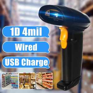 Barcode Scanner Code-Reader Inventory Pos-Terminal-Ip45 Handheld Portable USB for Wired