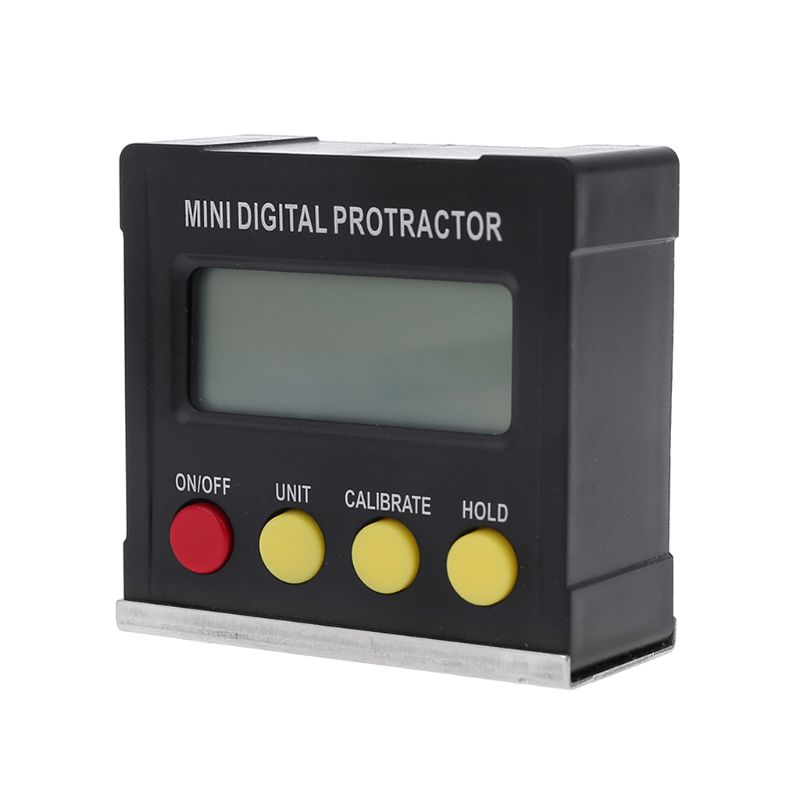 360 Degree Digital Protractor Inclinometer Electronic Level Box Magnetic Base Measuring Tools 94PC