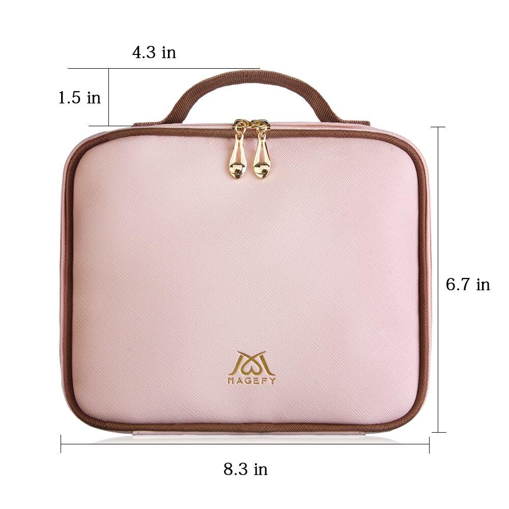 MAANGE 1 Uds. Bolsa de cosméticos, funda para brocha de maquillaje bolsa de viaje para maquillaje contenedor de belleza maquillaje organizador de brochas de maquillaje|rizador de pestañas| - AliExpress