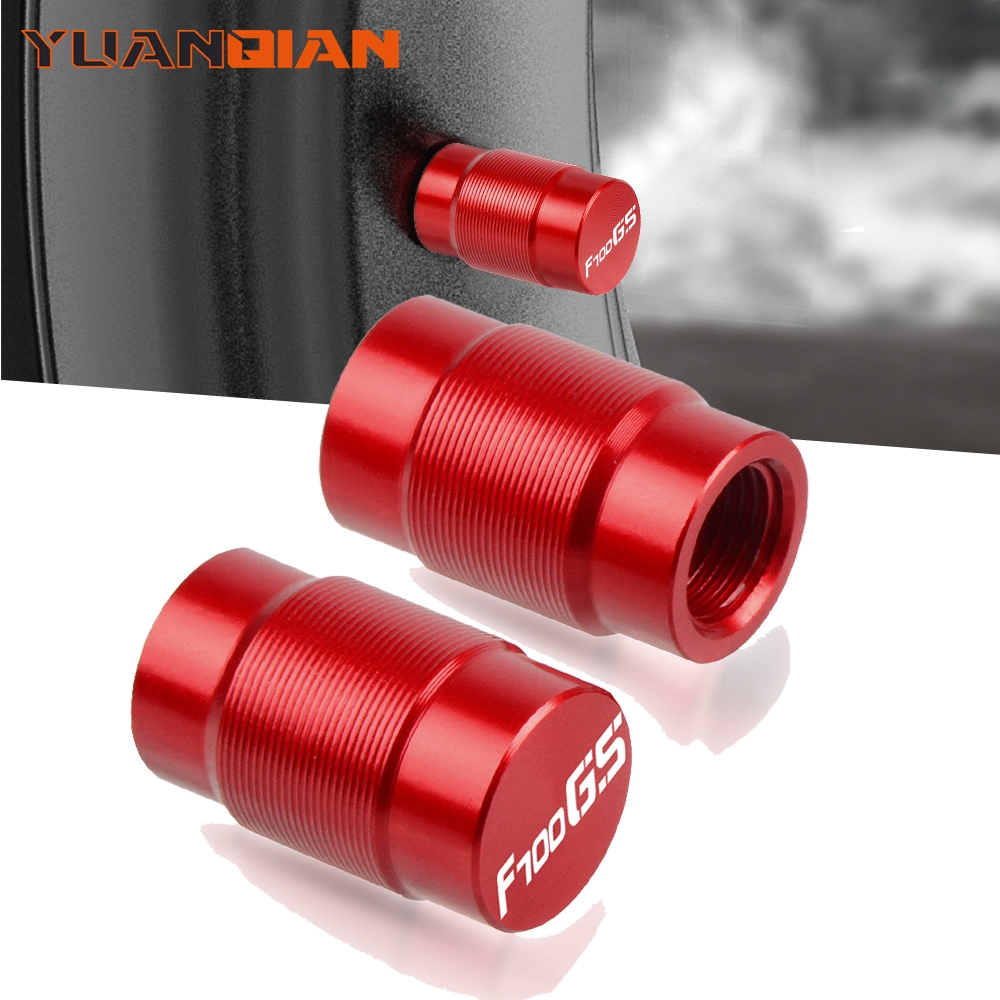 Motorcycle Accessories Couple Aluminum For <font><b>BMW</b></font> F700GS <font><b>700</b></font> <font><b>GS</b></font> <font><b>F</b></font> Vehicle Wheel Tire Valve Stem Caps Covers for Universal cycle image