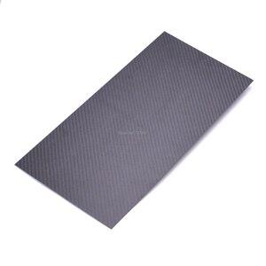 Image 4 - 400mm X 200mm gerçek karbon Fiber plaka paneli levha 0.5mm 1mm 1.5mm 2mm 3mm 4mm mm 5mm kalınlığında kompozit sertlik malzemesi