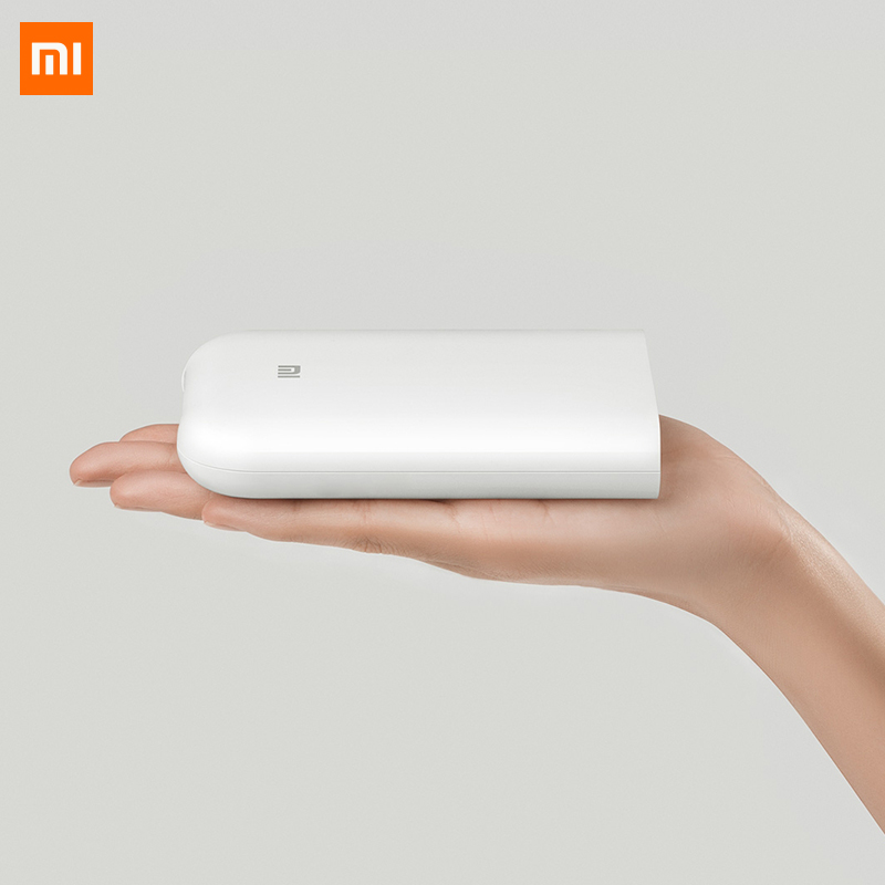Xiaomi Pocket Photo Printer 300dpi Portable Mijia Picture Printer With DIY Share 500mAh Picture Printer Pocket AR Video Printing