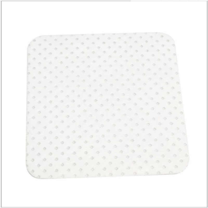 100 Uds pelusa-papel libre de toallitas de algodón eliminador de pegamento para pestañas limpiarse la boca de la botella de pegamento botella evitar obstrucción limpiador de cola de