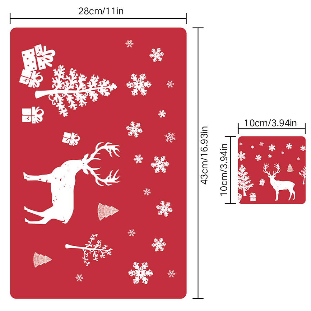 6 Sets of Matching Christmas Placemats and Coasters 6