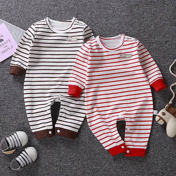 Newborn Baby Clothes Jumpsuit 100% Cotton Long Sleeve Baby Rompers Soft Infant Clothing Toddler Baby Boy Girl Jumpsuits Playsuit baby rompers autumn long sleeve newborn baby boy girl bear toddler jumpsuit romper baby clothes hooded 2018 cute clothing 2yrs