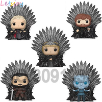 Official pop horse action figure Game of thrones figurines squishy with throne Daenerys Jon Snow Cersei Night's King Tyrion