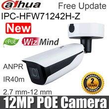 Nieuwe Originele Dahua 12MP Ip Camera IPC-HFW71242H-Z Ir 60M Bullet Wizmind Anpr Mensen Tellen Gezicht Detectie Cctv Netwerk Camera