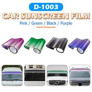 Film-Cover Sunshade Sunvisor-Sticker Windscreen Tint-Strip Front-Window Car 150x20cm