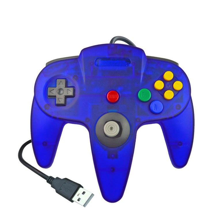 Джойстик для Gamecube, проводной джойстик, аксессуары для игр, для компьютера, ПК, N64
