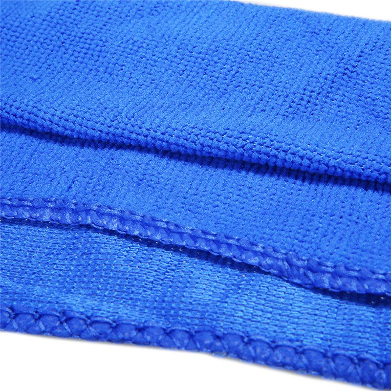 5pcs set Blue Microfiber Clean Auto Car Detail Soft Microfiber Cloths towels Wash Duster For Car Cleaning Accessories