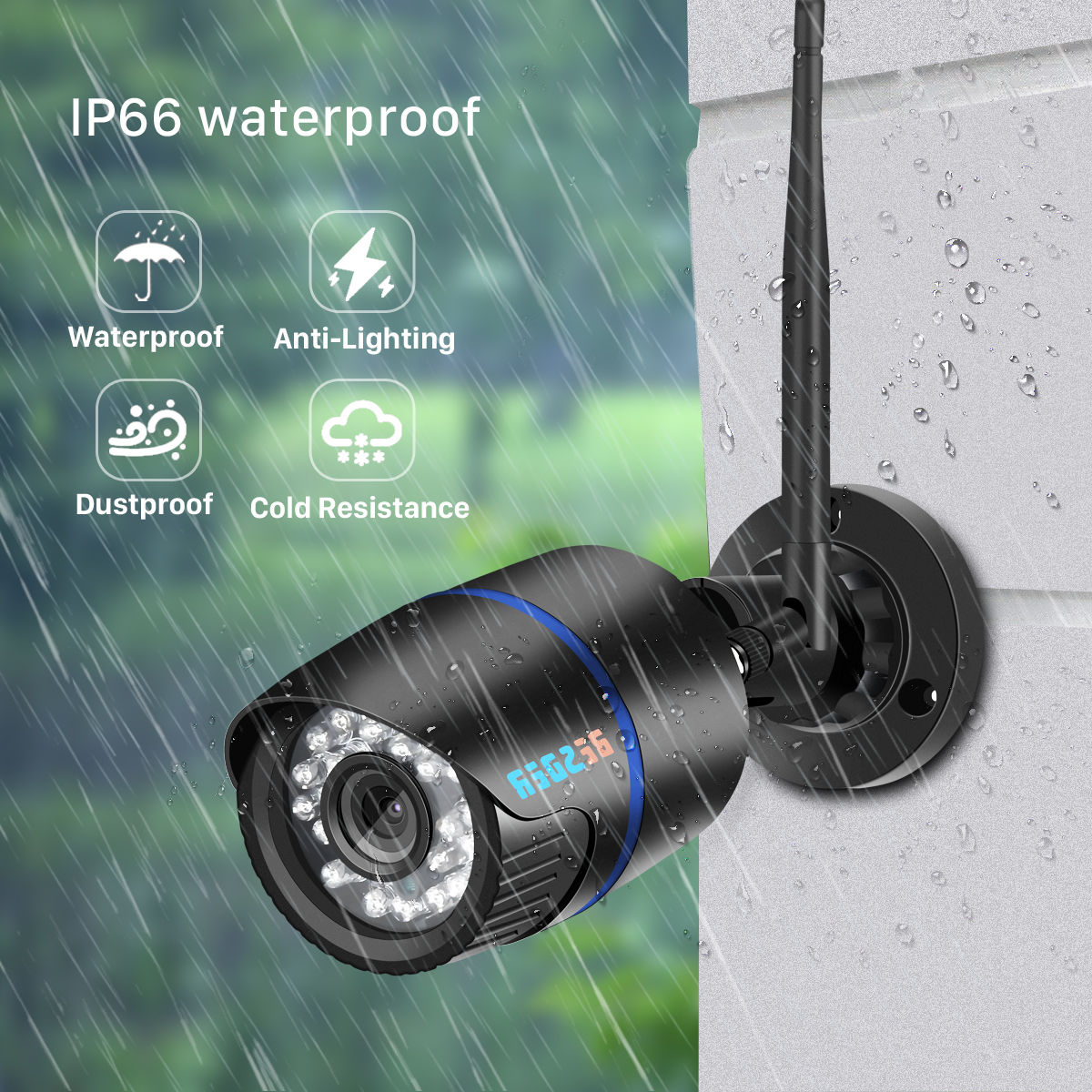 H1d229b93c6074418b22f4fe4ce339f90W BESDER iCsee Audio Security IP Camera 1080P Wireless Wired ONVIF CCTV Surveillance Outdoor Wifi Camera With SD Card Slot Max 64G