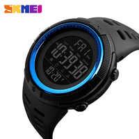 SKMEI Herren Sport Uhren Top Luxus Marke Chrono Countdown-Männer LED Digital Armbanduhren Männlichen Militär Uhr Relogio Masculino