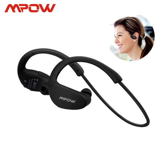 Mpow MBH6 Cheetah 4.1 Гарнитура Bluetooth наушники Беспроводной наушники с микрофоном aptX спортивные наушники для iphone телефона Android