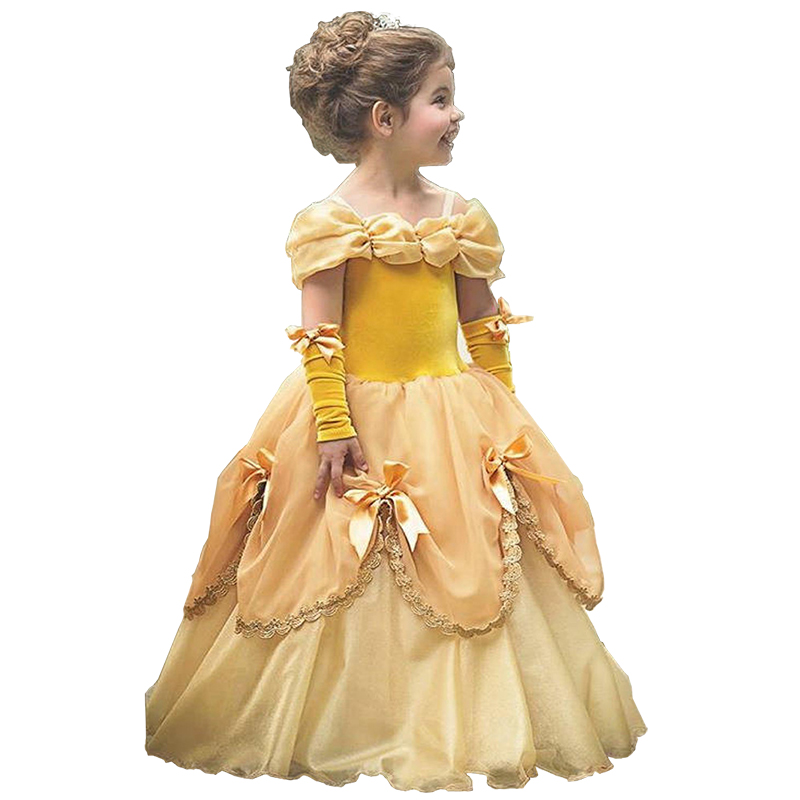 2021 Dress For Girl Birthday Party Cosplay Costume Fancy Children Dress Up Vestido Girls Clothes 2