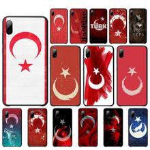 Babaite Turkey turkish flag silicone case for iphone 4s 4 5s 5 5c se 6 6s 7 8 plus x 11 pro max mobile phone accessories uk national flag style owl pattern protective back case for iphone 4 4s white red multicolor