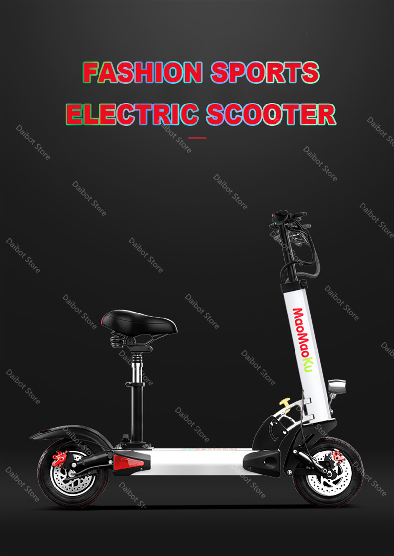 1200W 60V Electric Scooters Adults Two Wheels Electric Scooters High Speed 60KMH Folding Powerful Electric Bike With Seat (19)