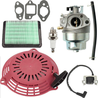 Lawn Mower Air filter Spark plug Carburetor Gasket Accessories Tubing For Honda GCV160 GCV135 Set