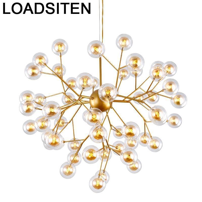 Candiles Modernos Industrial Decor Lampara De Techo Colgante Moderna Luminaria Luminaire Suspendu Deco Maison Hanging Lamp