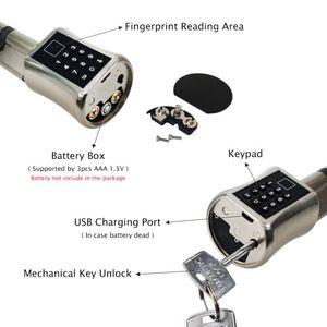 Биометрический умный цилиндрический замок с отпечатком пальца, Европейский электронный дверной замок с цифровой клавиатурой, замок без ключа для дома и квартиры