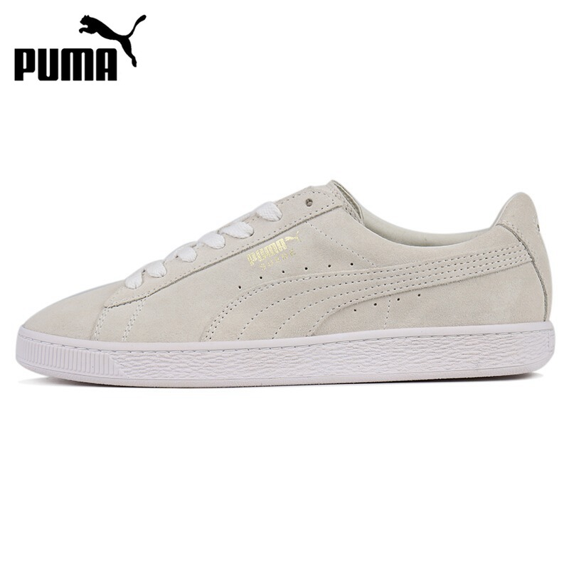 Original New Arrival  PUMA Suede Classic Metal Badge  Unisex  Skateboarding Shoes Sneakers