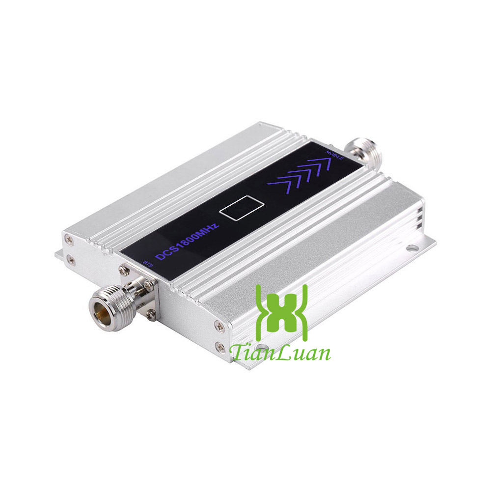 Image 3 - TianLuan Kit 4G LTE Mobile Signal Booster Repeater 1800Mhz  Cellphone Cellular DCS 1800 Cell Phone LCD Display   Sucker  AntennaSignal Boosters