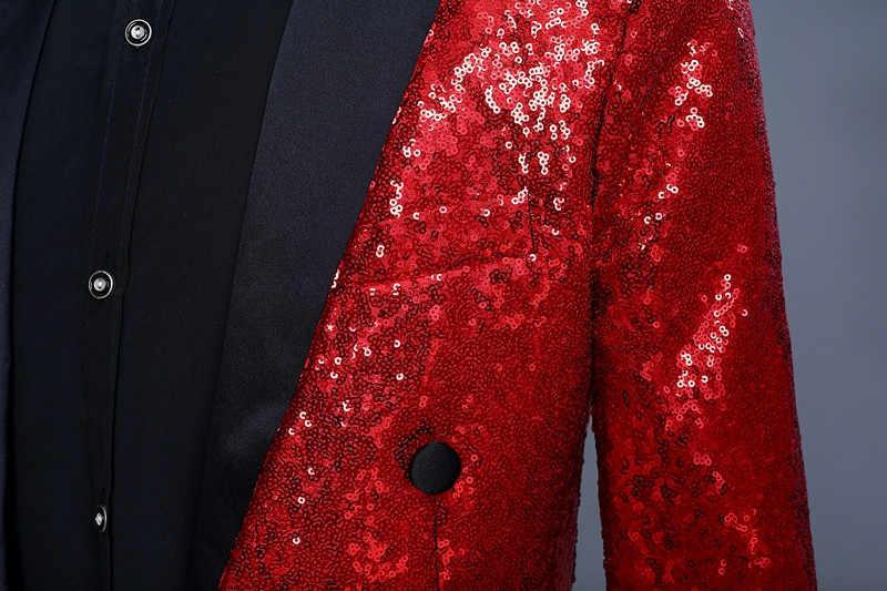 Abrigo rojo para hombre Redingote Longue Homme Vintage traje chaqueta largo esmoquin Vintage hombres vestido chaquetas esmoquin