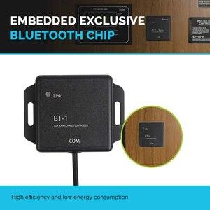 Image 3 - Водонепроницаемый MPPT контроллер солнечной зарядки, модуль Bluetooth 5V 12V IP67, беспроводной монитор, солнечная PV система для контроллеров ML